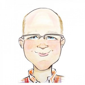 Author Caricature