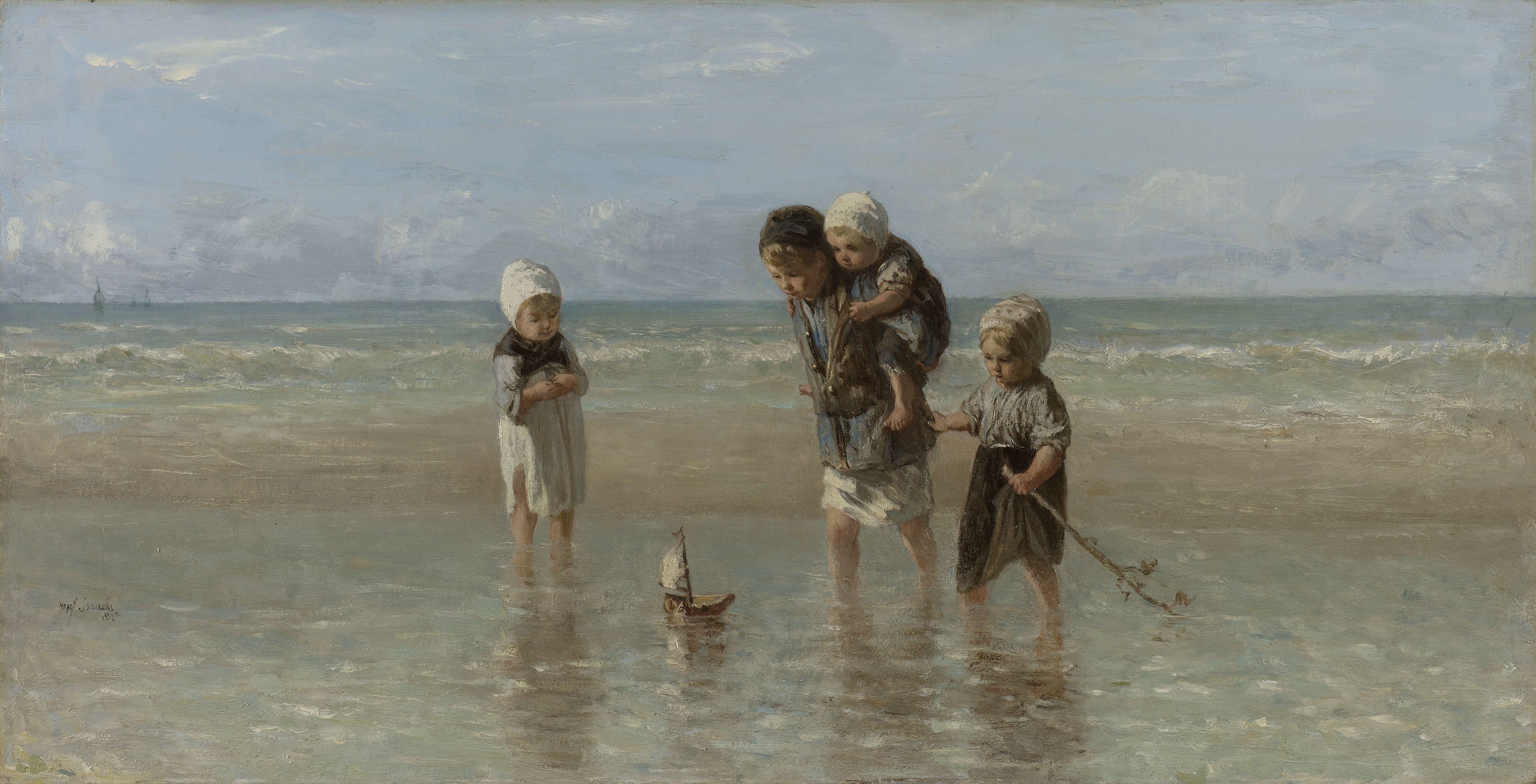 Jozef_Israëls_-_Kinderen_der_zee_1872